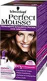 Perfect Mousse permanente Schaumcoloration, 465 Schokobraun, 3er Pack (3 x 1 Stück)