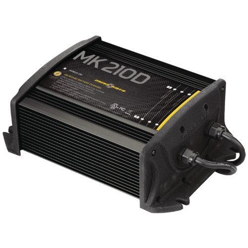 MinnKota MK 210D On-Board Battery Charger (2 Banks, 5 amps per bank) primary