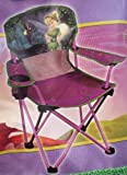 Disney Tinkerbell Toddler Camping Chair with Cup Holder and Arm Rest