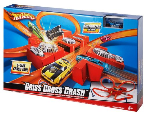 Hot Wheels Criss Cross Crash Juego de pistas