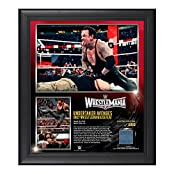 The Undertaker WrestleMania 31 15 x 17 Framed Ring Canvas Photo Collage