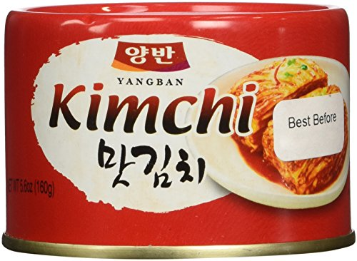 Cabbage Kimchi in can(Tasteful Kimchi) 5.6 Ounce (Canned Kimchi compare prices)