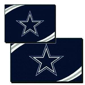 Amazon Com Dallas Cowboys Nfl 2 Piece Rectangular Rug