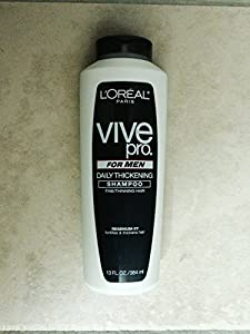 L'Oreal Paris Vive Pro for Men Absolute Clean Hair and Body Wash, 13-Fluid Ounce