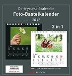 Foto-Bastelkalender 2017 - schwarz /...