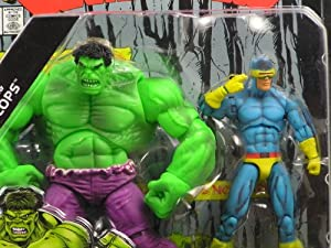 Marvel Universe Secret Wars Comic 2-Pack Hulk & Cyclops Action Figures