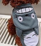 BeauVillage(ボー・ヴィラージュ)ワンちゃん、猫ちゃん大変身!!トトロ風コスプレペット用変身コスチューム春夏涼しいメッシュ素材犬服猫服(S)
