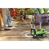 Best Selling Affordable Adjustable Lightweight Portable Compact 1650 PSI Eco-Friendly Electric Pressure Washer Walls Deck Patio Driveway Sidewalk Cleaner On Wheels- Built-In Detergent Tank Adjustable