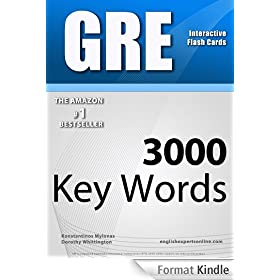 GRE Interactive Flash Cards - 3000 Key Words. A powerful method to learn the vocabulary you need. (English Edition)