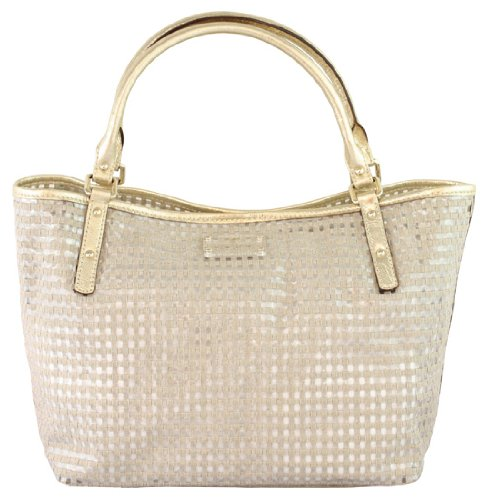 Cheap Kate Spade Flamingo Island Sophie Tote Clear Sand