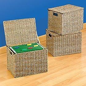 seagrass file box