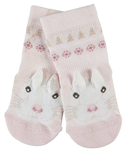 FALKE Snow Bunny, Calze Unisex-Bimbi, Rosa (Powderrose 8900), 9 mesi