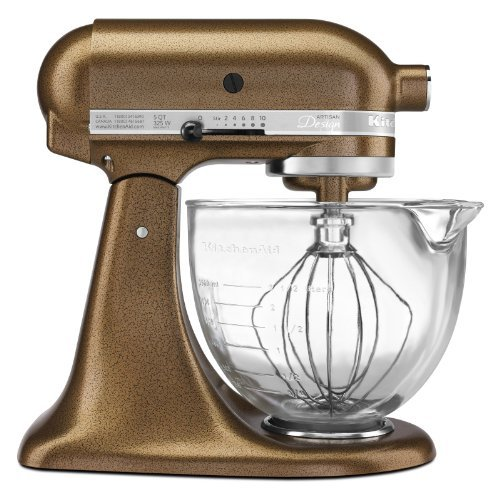 KitchenAid Artisan Design 5-Quart Stand Mixer, Antique Copper (Kitchen Aid Stand Artisan Mixer compare prices)