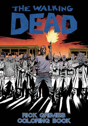 The Walking Dead: Rick Grimes Adult Coloring Book