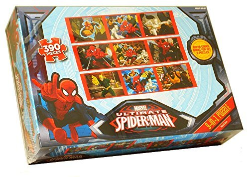 Marvel Ultimate Spider-Man 9-in-1 Puzzle 360 Pieces - 1