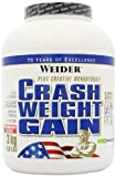 Weider Nutrition Crash Weight Gain Strawberry Powder 3000g