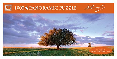 Andrews + Blaine Treescape Panoramic Puzzle, 1000-Piece