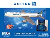 BL333 Best Lock United Airlines 55 Piece Construction Toy