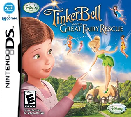Disney Fairies Tinkerbell and the Great Fairy Rescue