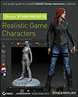 ZBrush Studio Projects: Realistic Game Characters Front Cover
