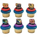 Disney Big Hero 6 Super Heroes Cupcake Rings - 24 pcs by DecoPac