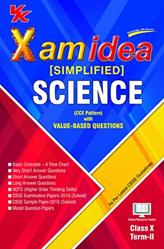 Xam Idea (Simplified) Science Term-2 Class 10