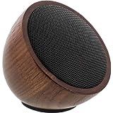 InLine WOODWOOM Mini Bluetooth Lautsprecher (52 mm) walnuss-holz