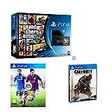 Sony Playstation 4 PS4 Console Grand Theft Auto 5, FIFA 15, Call of duty Advance Warfare Bundle