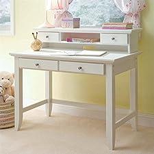 Naples Student Desk w/ Hutch