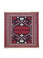 Floor Decor Alfombra Doubleface Musa (Rojo/Marfil/Multicolor)