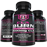 FIT for Her BURN CLA 1500mg Highest Potency Womens CLA weight-loss formula