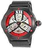 Stuhrling Original Men's 4ATB.335975 Lifestyle Collection Alpine Slalom Automatic Skeleton Mesh Watch