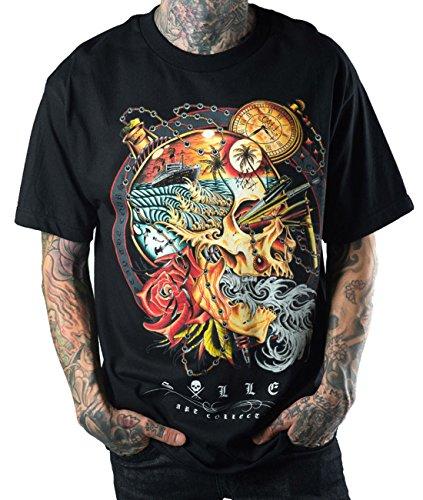 Sullen Clothing -  T-shirt - Uomo nero Large