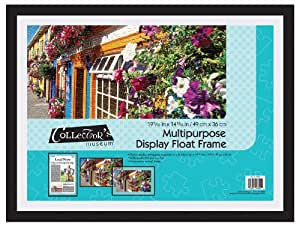 MCS Multi Use Display Float Frame for Puzzles and More