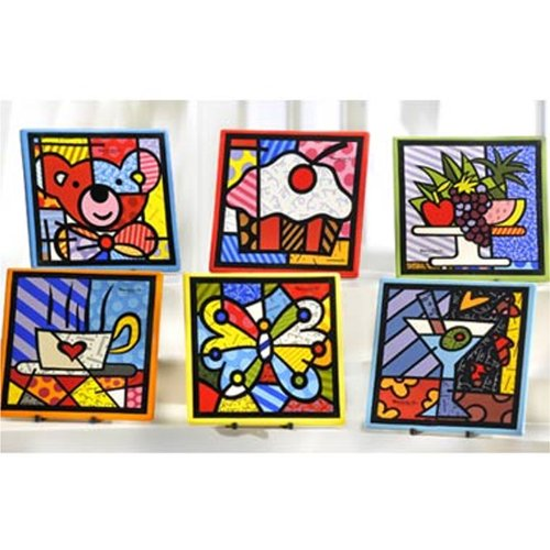 romero britto art. Romero Britto 2010 Wall