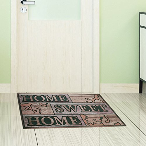 Amagabeli Home Sweet Rubber Non Skid Doormat For Outdoor