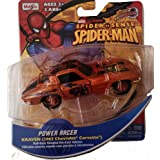 Marvel Spider Sense Spider-Man Motorized Power Racer- Pull-back Powered Die-cast Vehicle,Kraven 1963