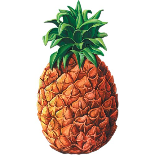 Pineapple Cutout Party Accessory (1 count)