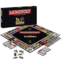 The Godfather Monopoly: Francis Ford Coppola's Classic Movie Board Game