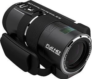 Rollei Movieline SD 230 Cámara de vídeo (5 Megapixel cámara, 3,5 pulgadas TFT-pantalla, Full HD, 23x zoom óptico, USB 2.0) [Importado de Alemania] negro