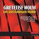Ein anständiger Mord (Ein Karin Sommer Krimi 1) Hörbuch von Gretelise Holm Gesprochen von: Marion Reuter