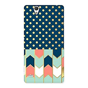 Delighted Pattern Pastal Back Case Cover for Sony Xperia C4