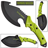 SOG Survival Hawk SK1001-CP – Hardcased Black Axe Head w/ Nail Puller, Hammering Head, Fire Starter, GRN Handle, Nylon Sheath