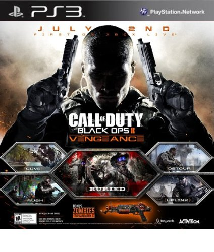 Call of Duty Black Ops II: Vengeance DLC - PS3 [Digital Code] (Black Ops 2 Season compare prices)