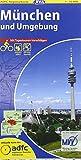 ADFC-Regionalkarte München und Umgebung mit Tagestouren-Vorschlägen, 1:75.000, reiß- und wetterfest, GPS-Tracks Download