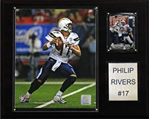 NFL Philip Rivers San Diego Chargers Player Plaque by C&I Collectables