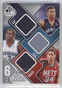 Danny Granger Rudy Gay Chris Paul LeBron James Carmelo Anthony Devin Harris #78 99... by SP Game Used