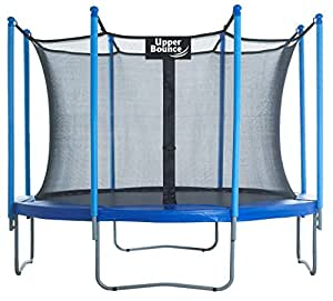 Upper Bounce 10-Feet Trampoline and Enclosure Set equipped with the New Upper Bounce Easy Assemble Feature