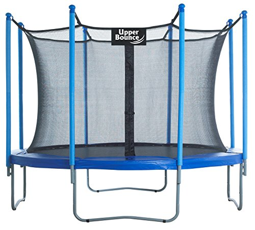 Upper-Bounce-10-FT-Trampoline-Enclosure-Set-equipped-with-the-New-EASY-ASSEMBLE-FEATURE