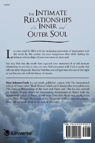 The Intimate Relationships of the Inner and Outer Soul: Spirituality, Nature and Love Poems